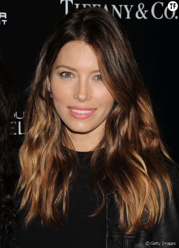 Le color melting de Jessica Biel