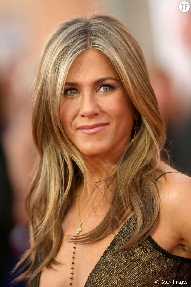 Le blond cendré de Jennifer Aniston