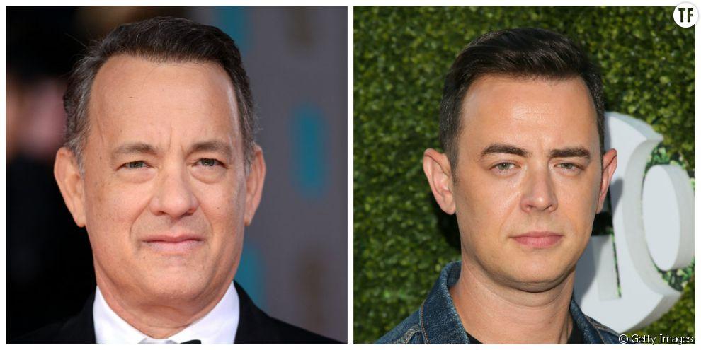 Tom Hanks et son fils Colin Hanks