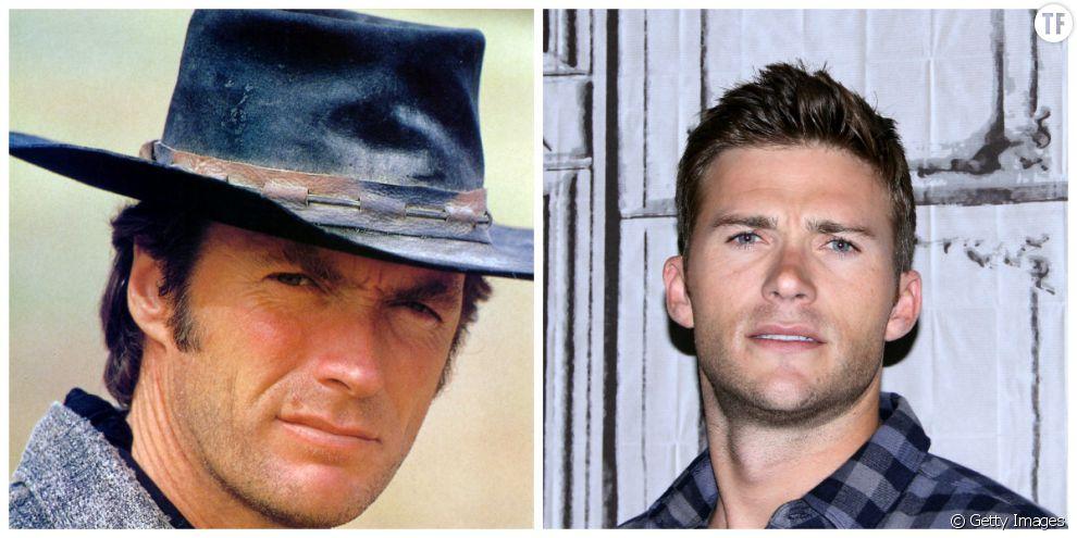 Clint Eastwood et son fils Scott Eastwood