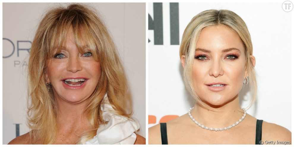 Goldie Hawn et sa fille Kate Hudson