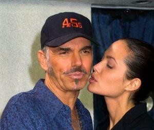 Angelina Jolie et son ex-mari Billy Bob Thornton en 2001