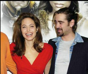 Colin Farrell et Angelina Jolie en 2005
