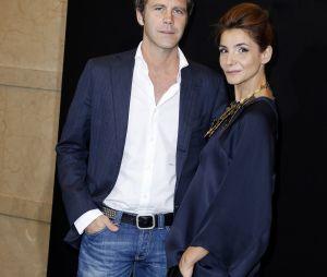 """Le prince Emmanuel Philibert de Savoie et Clotilde Courau (princesse de Savoie) à la soirée """"Vogue 50 Archive"""" à Milan, le 21 septembre 2014"""