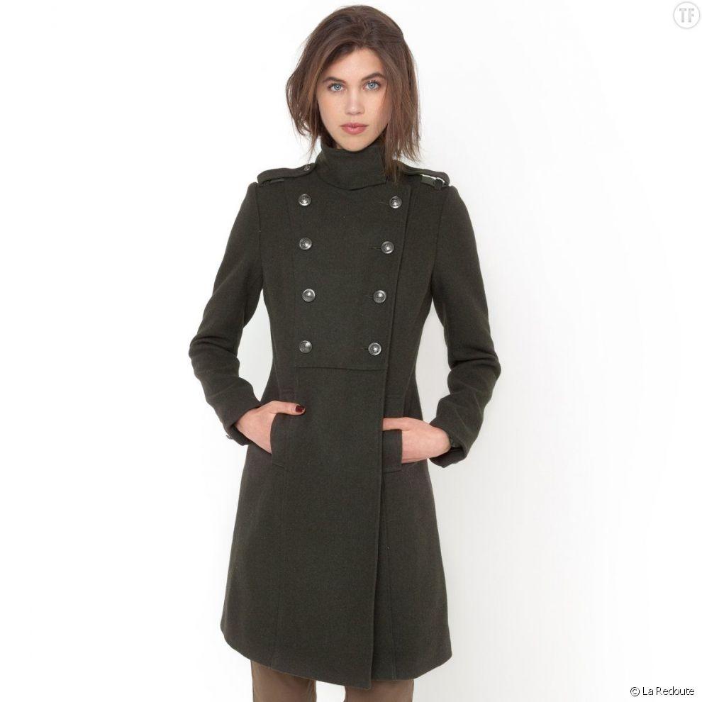 Manteau caban femme pas cher