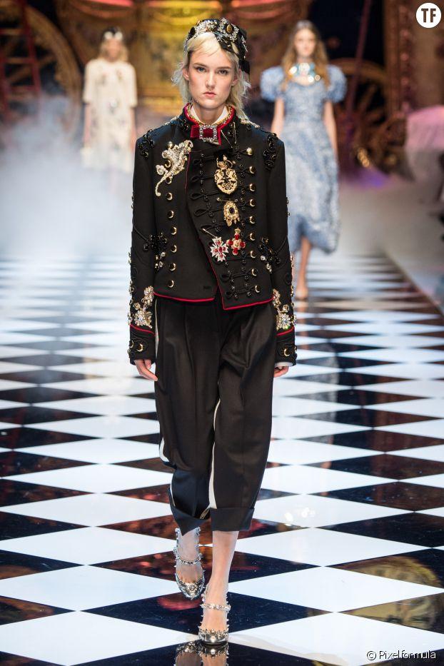 La veste officier chez Dolce & Gabbana