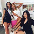 Paola Torrente et les deux autres finalistes de Miss Italie