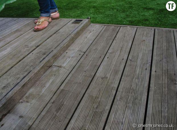 Le sol et des pieds
