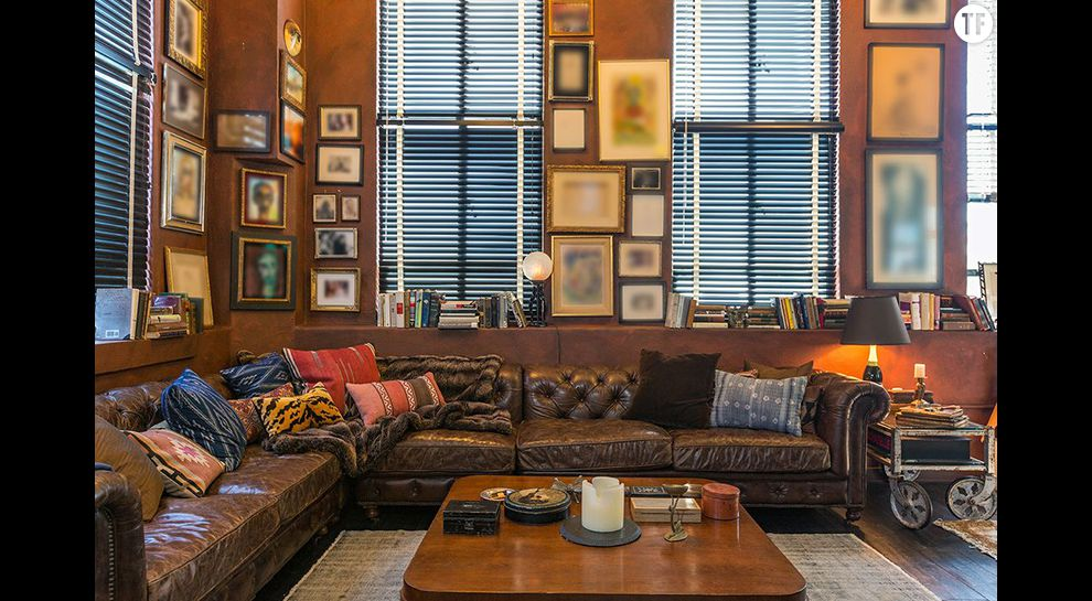 Johnny Depp vend son foyer californien, ici un grand salon