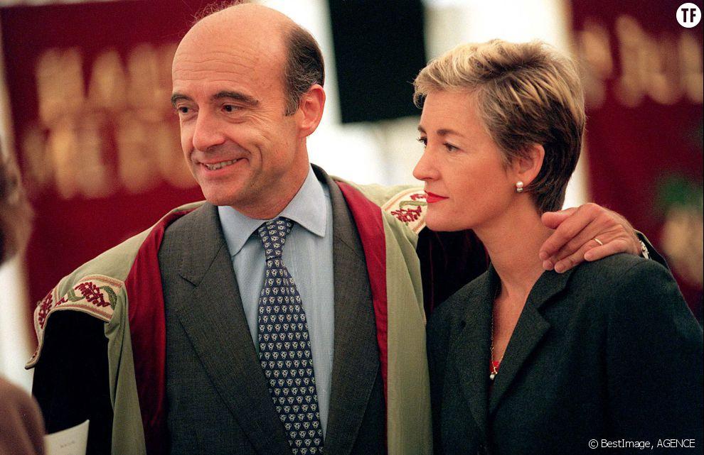 Alain Juppé et sa femme Isabelle en 1998