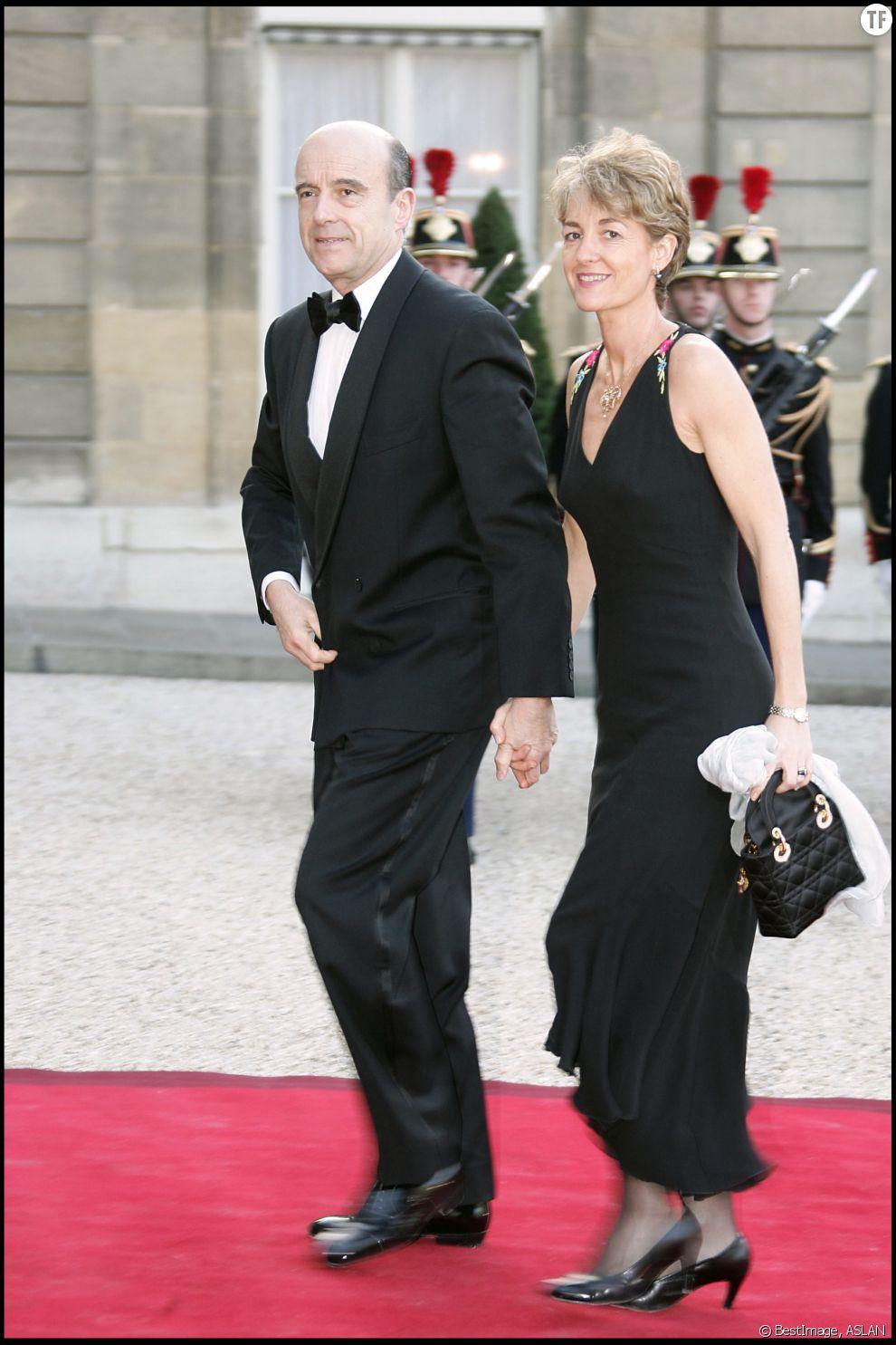 Alain Juppé et sa femme Isabelle en 2005