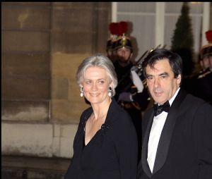 François Fillon et sa femme Pénélope en 2008