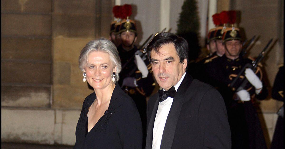Fran ois fillon et sa femme p n lope en 2008 - Francois busnel sa femme ...