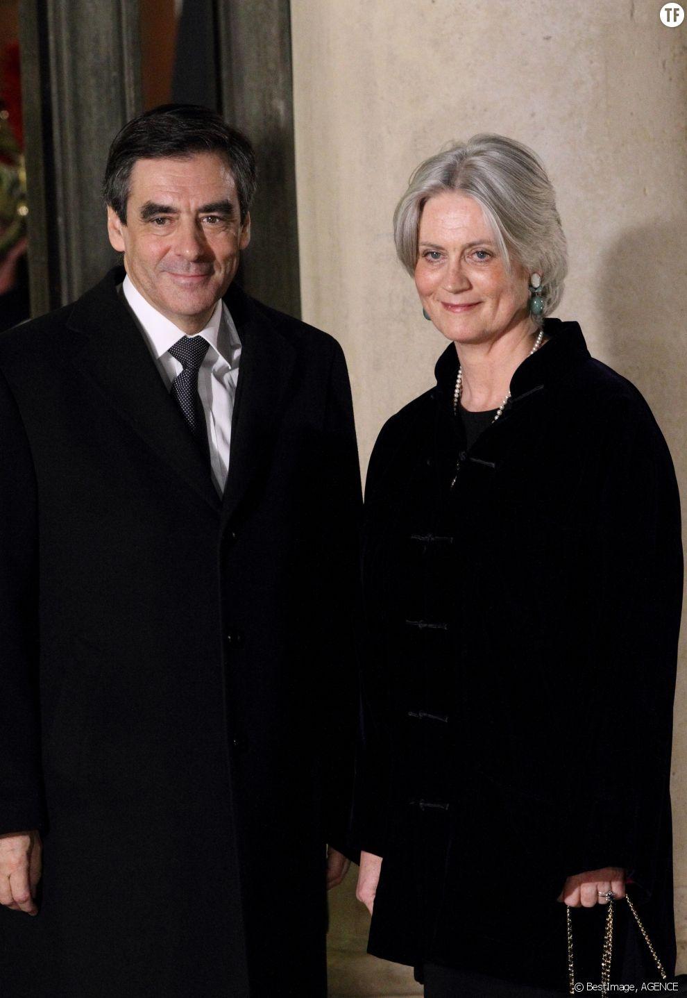 François Fillon et son épouse Pénélope en 2012