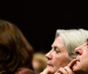 François Fillon et sa femme Pénélope en meeting