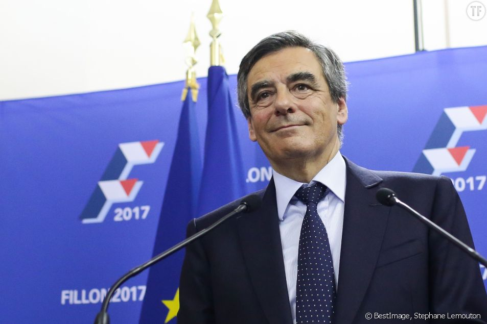 François Fillon en meeting