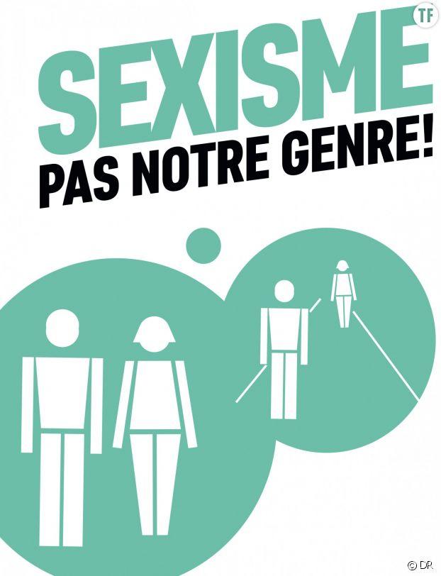 La campagne Sexisme pas notre genre lancée par le gouvernement