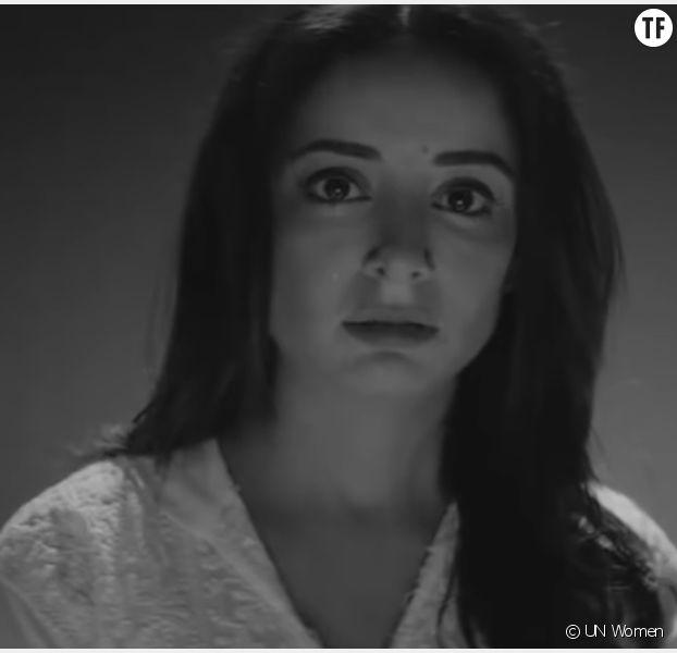 Capture d'écran du clip #BeatMe pour sensibiliser les Pakistanais aux violences faites aux femmes