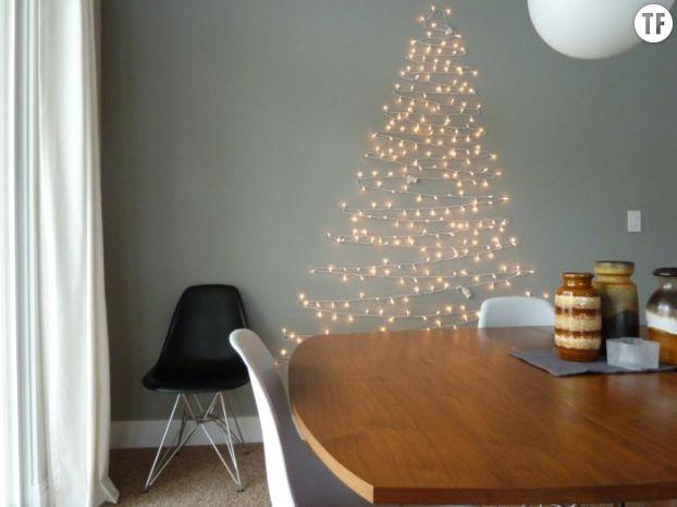 Sapin de Noël en lampions