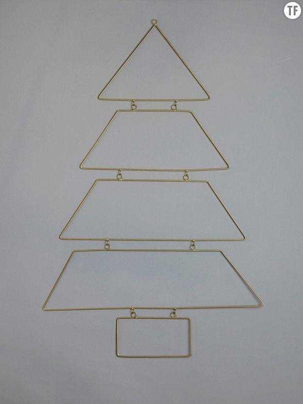 Arbre de Noël en métal Cyrillus