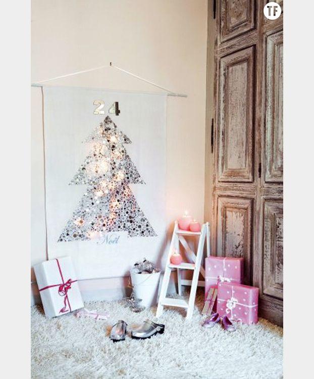 Arbre de Noël en paillettes Marie Claire Idées