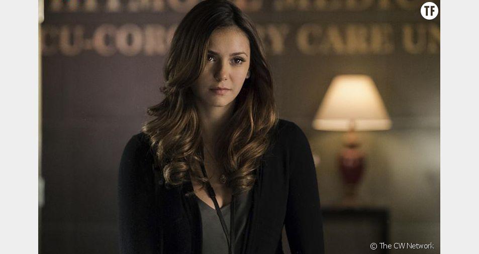 Nina Dobrev dans Vampire Diaries