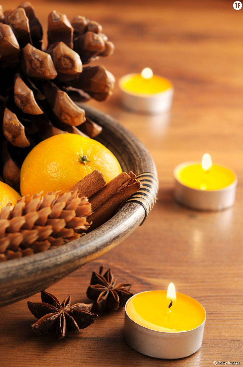 DIY de Noël : comment transformer une clémentine en bougie ?