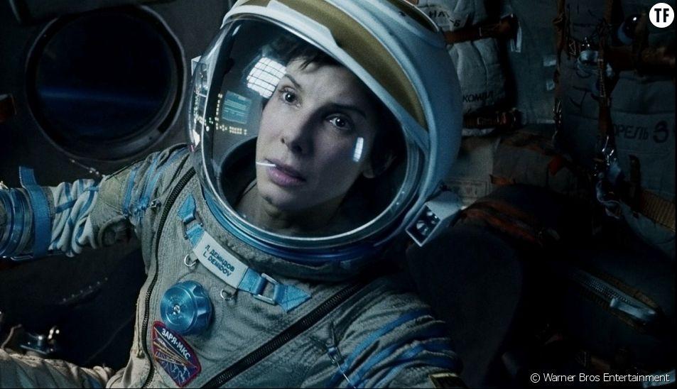 Sandra Bullock dans Gravity