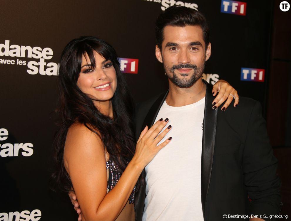 """Florent Mothe et sa partenaire dans """"Danse avec les stars"""", Candice Pascal"""