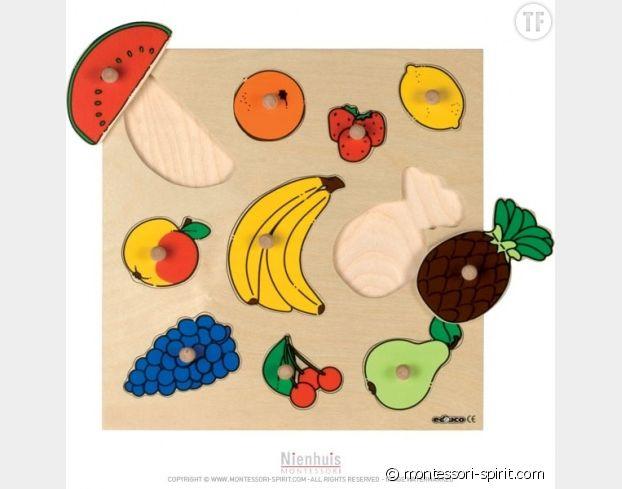 Puzzle incrustation fruits
