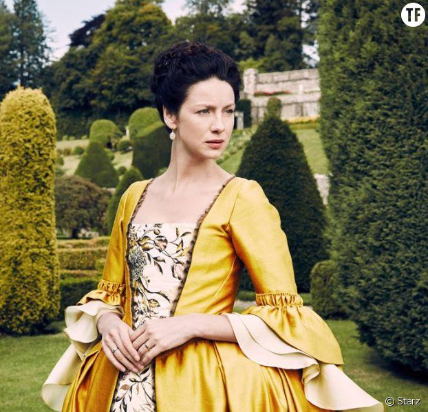 Caitriona Balfe en interview pour la sortie DVD d'Outlander saison 2