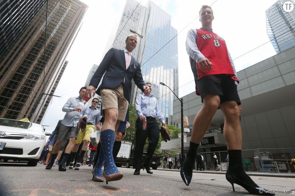 De Toronto à Sofia les hommes marchent contre les violences faites aux femmes