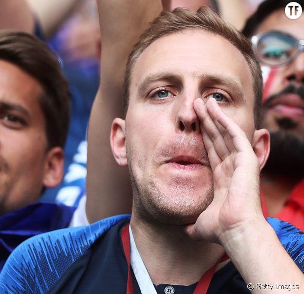 Supporter français de l'Equipe de France