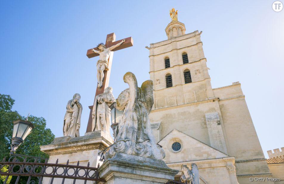 Cathédrale Notre-Dame des Doms où la messe intégriste a été célébrée