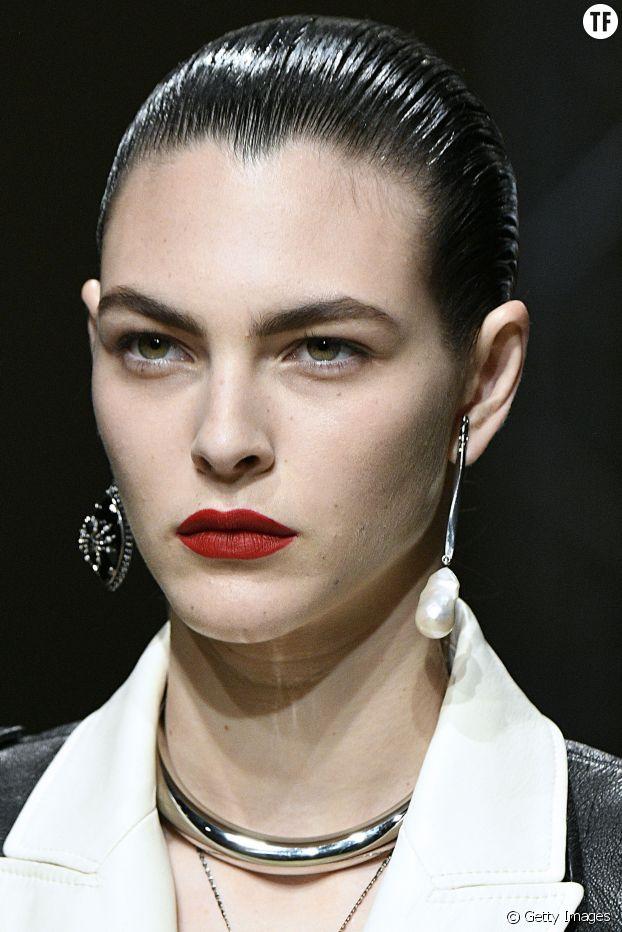 La bouche bien rouge, Alexander McQueen