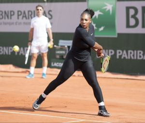 Serena Williams à Roland Garros en mai 2018