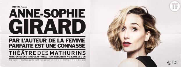 Anne-Sophie Girard, Théâtre des Mathurins, Paris