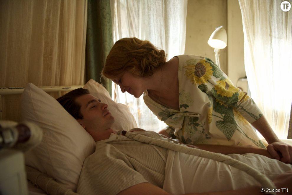Andrew Garfield et Claire Foy dans Breathe