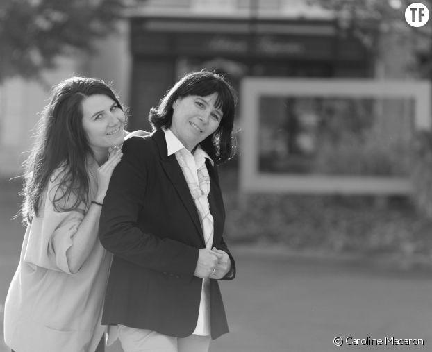 Catherine Lebée avec sa fille Caroline, fondatrices de Caroline Macaron