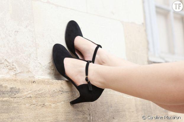 """""""Caroline Macaron"""", première de chaussures Made in France pour les femmes souffrant d'hallux valgus."""