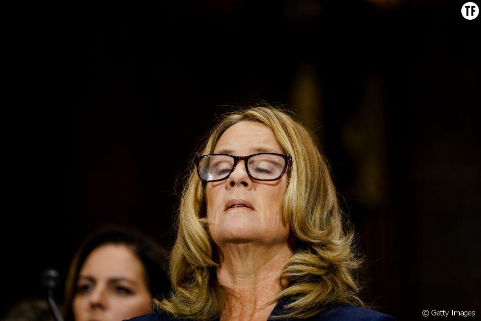 Christine Blasey Ford le 27 septembre devant le Sénat américain