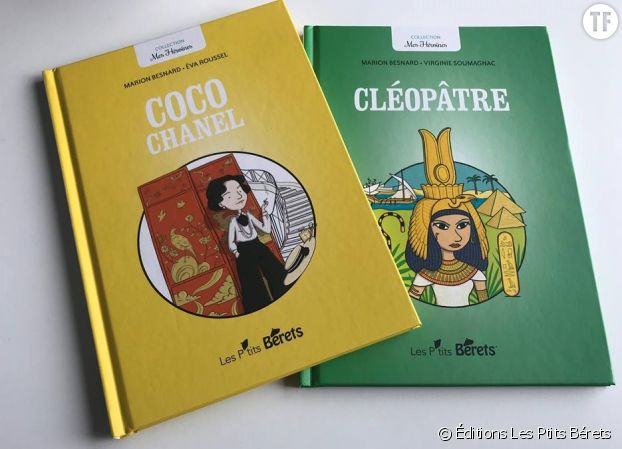 """Collection """"Mes héroïnes"""" Éditions Les Ptits Bérets"""