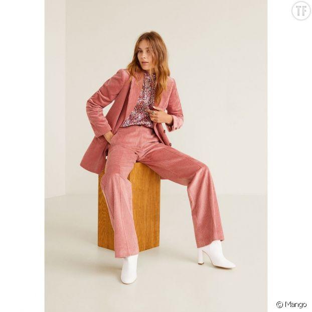 Pantalon en velours côtelé, Mango