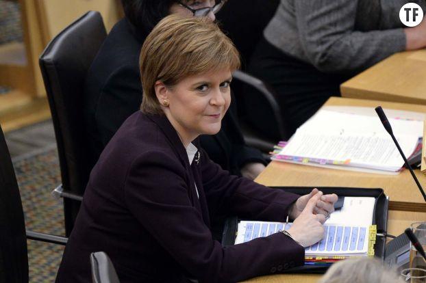 La première Ministre écossaise Nicola Sturgeon le 8 novembre 2018