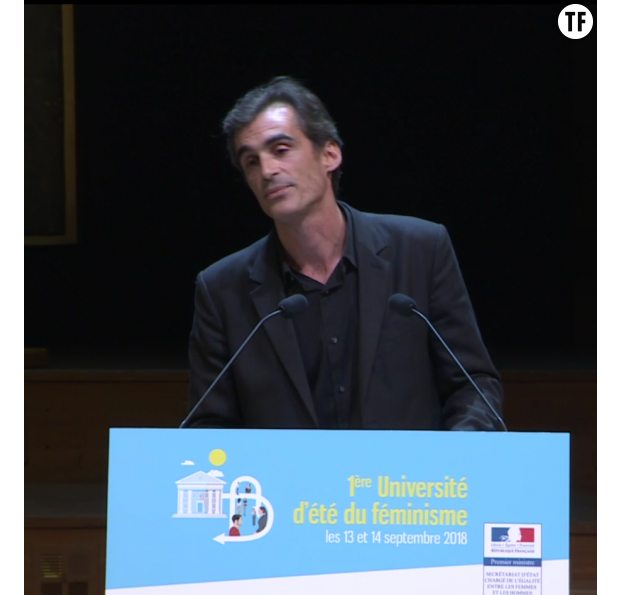 Raphaël Enthoven à l'université d'été du féminisme