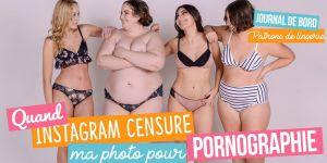 """Une mannequin taille 54 """"pornographique"""" pour Instagram : une styliste dénonce"""