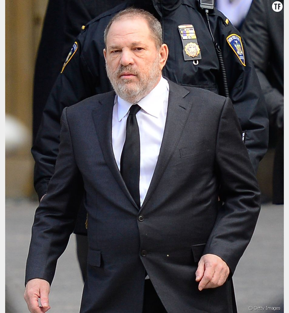L'ancien producteur Harvey Weinstein le 25 janvier à New York