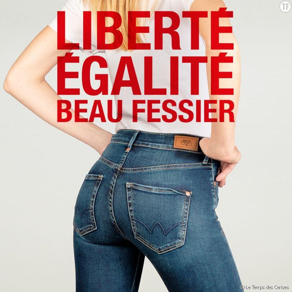 3903d9c04269 Sexisme   la marque Le Temps des Cerises épinglée pour sa pub de ...