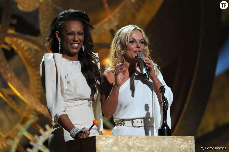 Mel B et Gerri Halliwell en 2010
