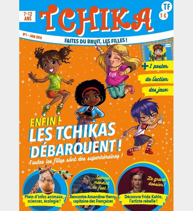 Couverture du magazine Tchika